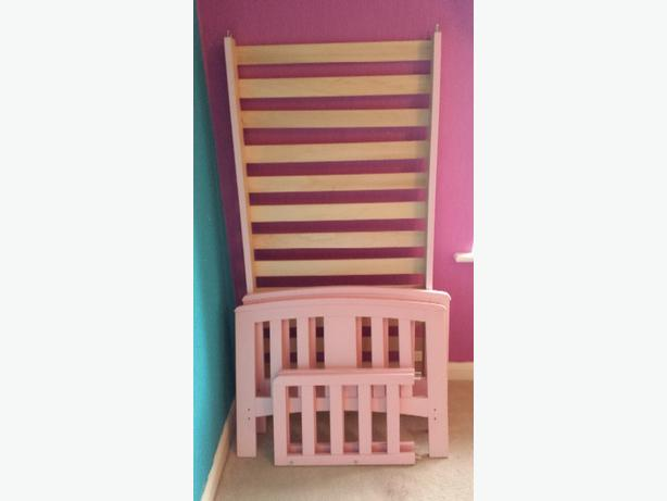 Pink Toddler Bed DUDLEY Dudley