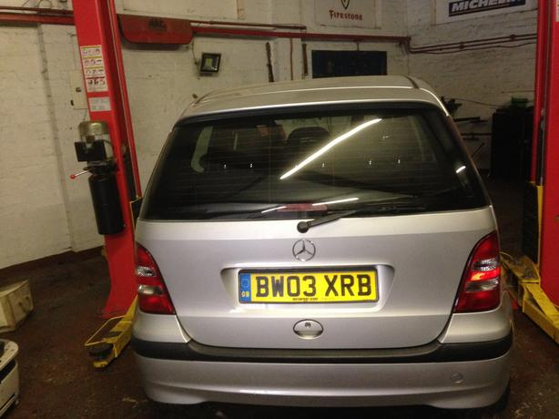 Mercedes A class breaking for parts