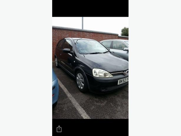 2002 Vauxhall Corsa SXI, full mot, nice car for year.£800 or best offer.