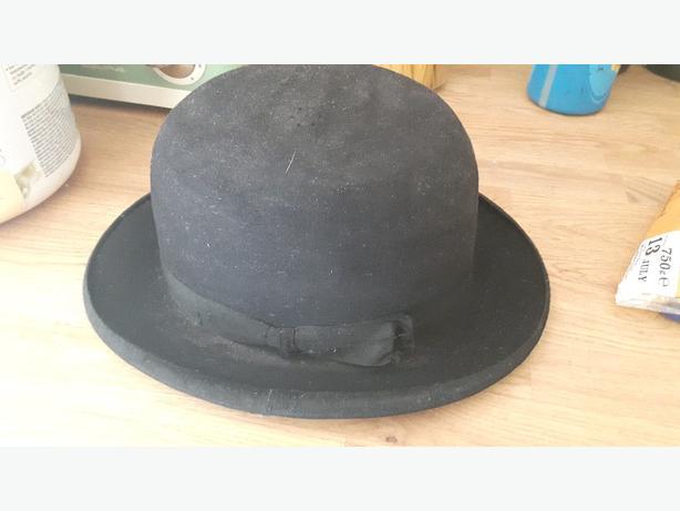 victorian bowler hat