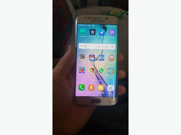 FOR TRADE:  Samsung s6 edge on 02 swaps for phone