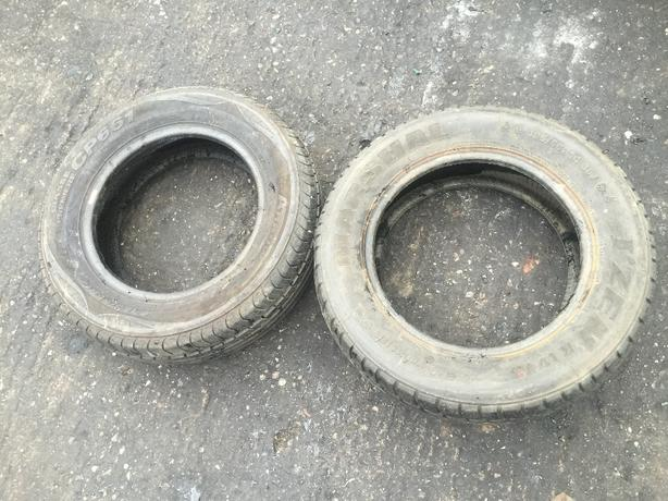 """TYRES 185-65-14 PART WORN £10 THE PAIR 14"""" TYRES"""