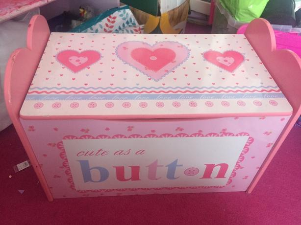 girls dunelm toy box