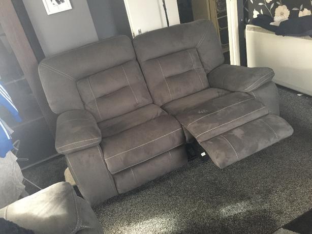 kinman 3&2 seater recliner sofas