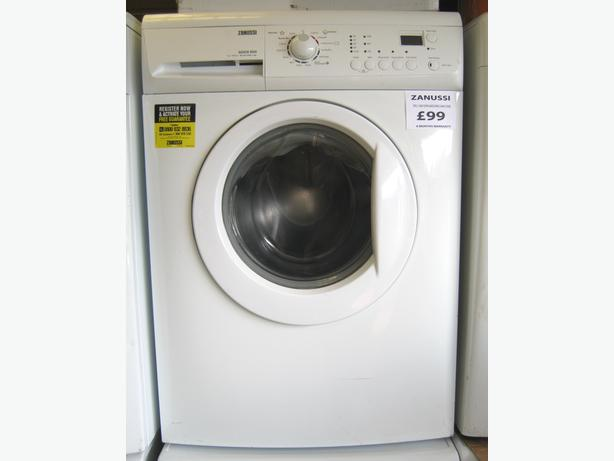 To Clear - Zanussi 7kg 1400 Spin Washing Machine, £65 including 6 month warranty