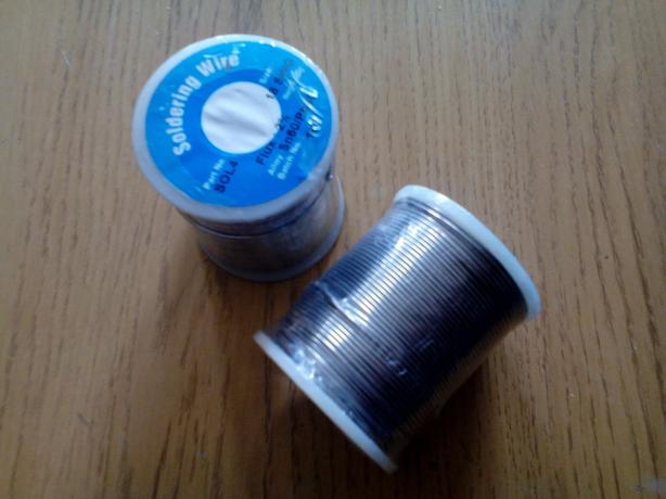 500g 60/40 18swg new sealed solder wire 6 rolls available