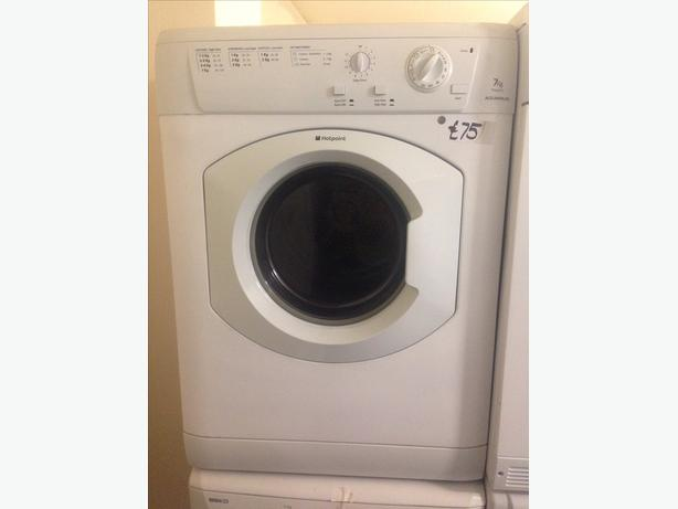 7KG HOTPOINT VENTED DRYER