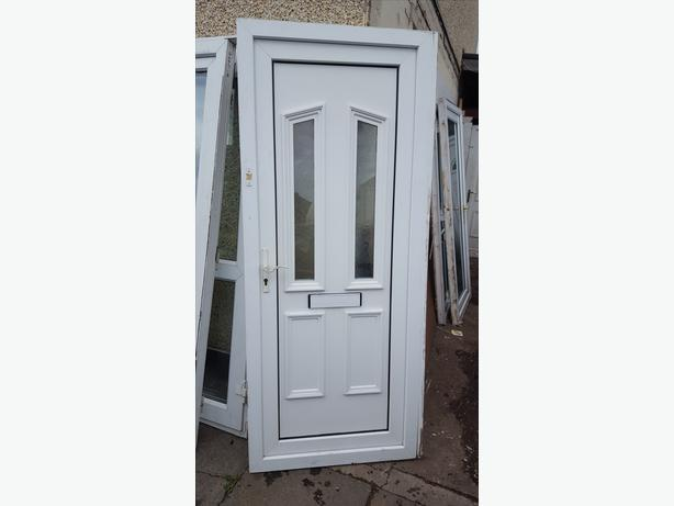 Upvc door bilston dudley for Ready made upvc doors