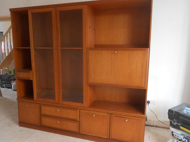 Large Wall Unit - real wood