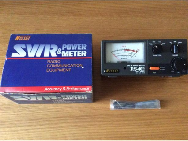 NISSEI SWR & POWER METER RS-402