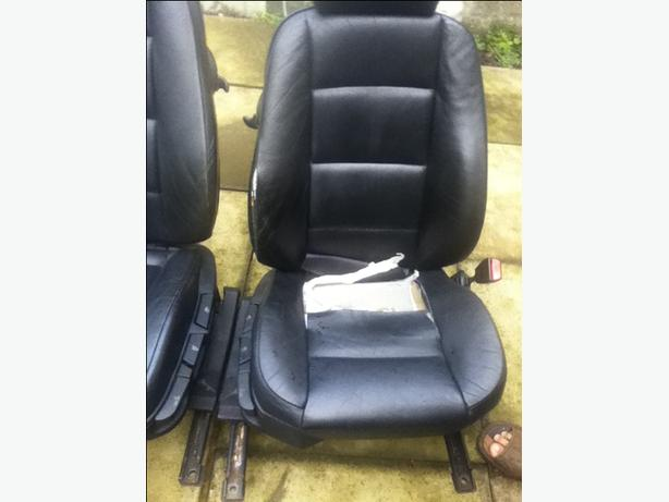 BMW e36 Leather car seats