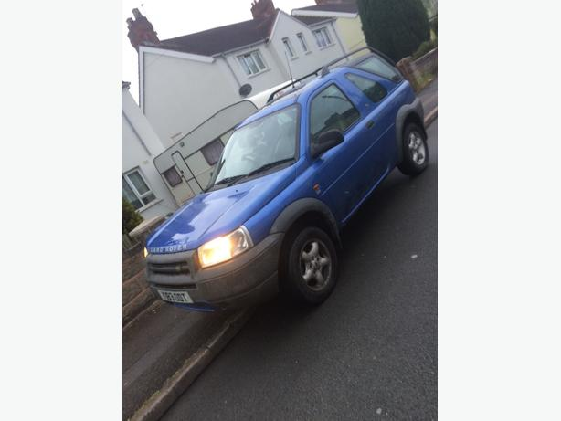 landrover freelander td4 long mot drive away