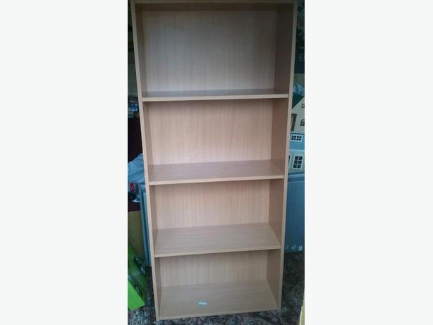 wooden shelves,, bookcase.