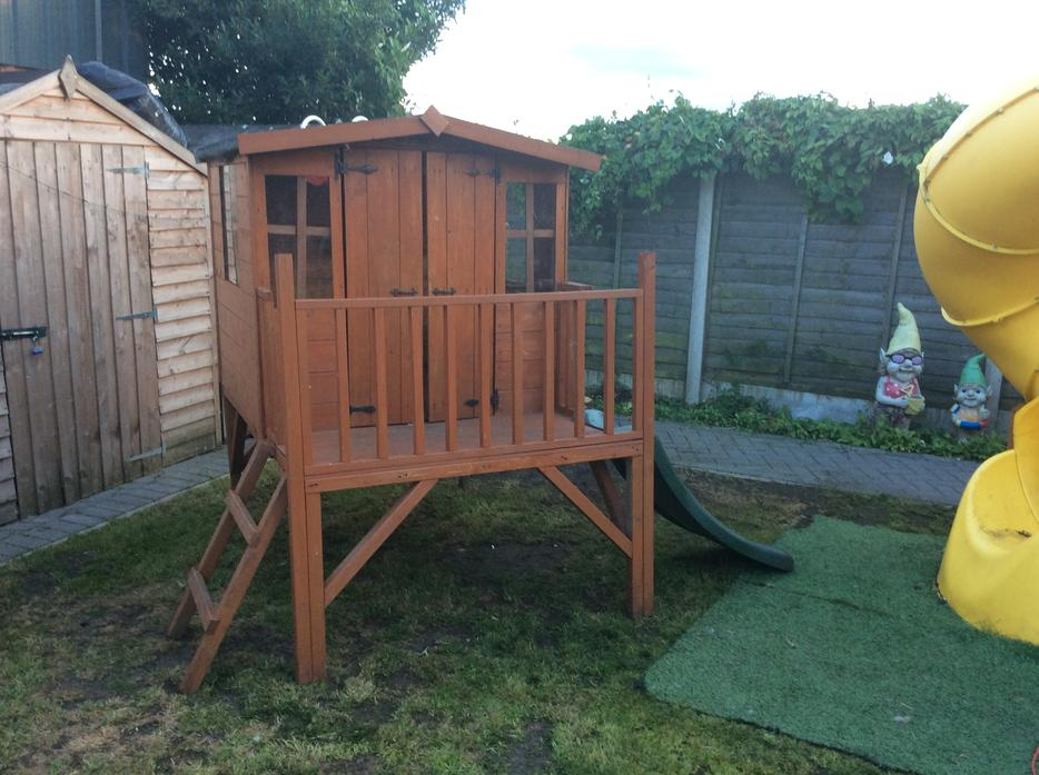 Wooden Play House Brierley Hill Dudley