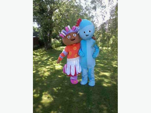 iggle piggle upsy daisy mascots for sale