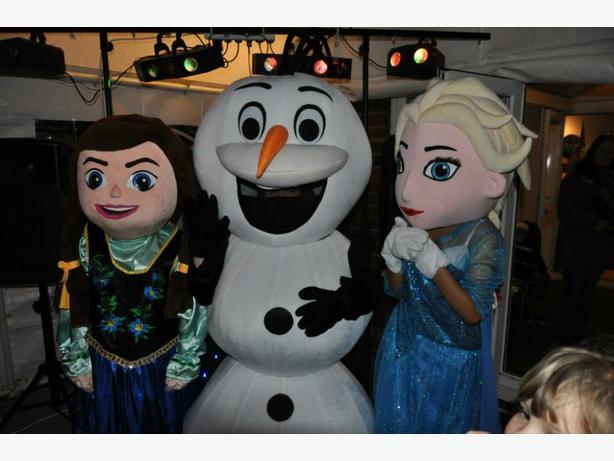Elsa Olaf Anna frozen mascots for sale