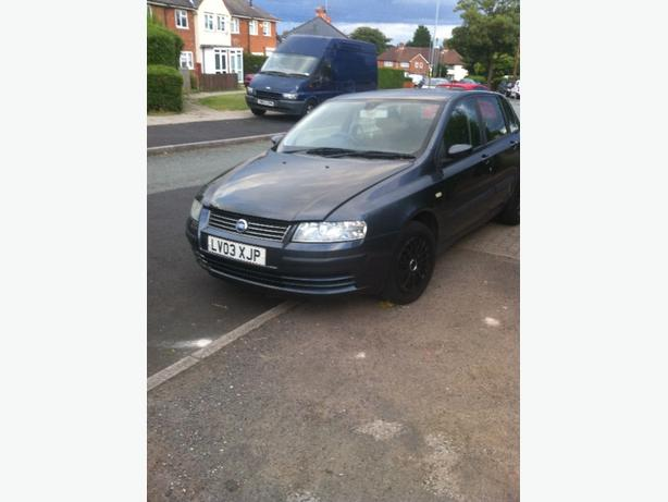#bargain# fiat stilo tax moted insured