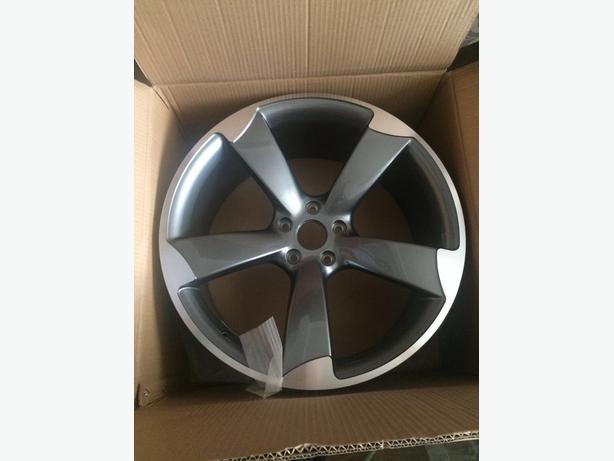 Audi black edition wheels
