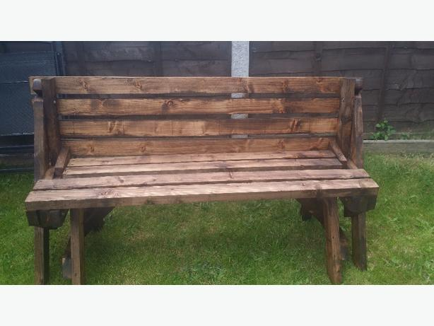 Garden bench/table