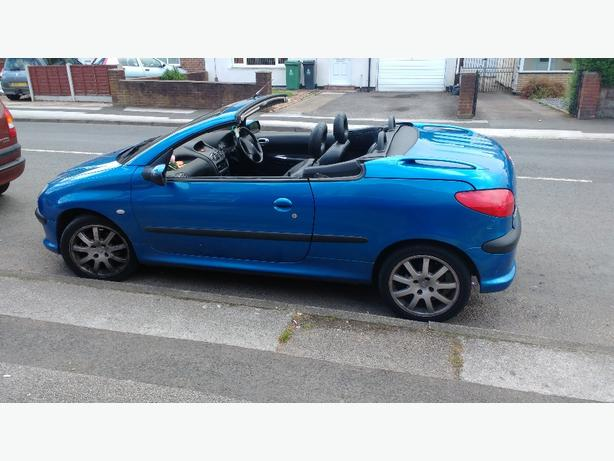 Peugeot 206cc cabby