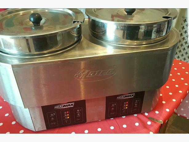 Hatco Heatmax Double Food Warmer Bain Marie RW02 INDUSTRIAL