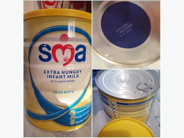 sma extra hungry baby milk