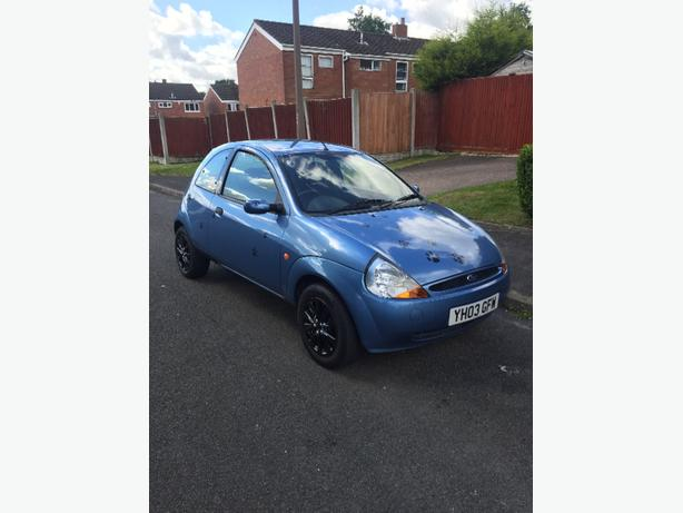 2003 03reg Ford Ka 1.3 low miles only 38k