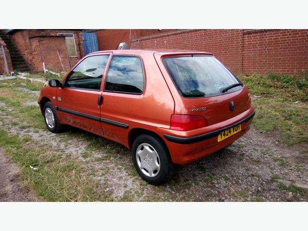 PEUGEOT 106 1.1cc  Y REG MANUAL