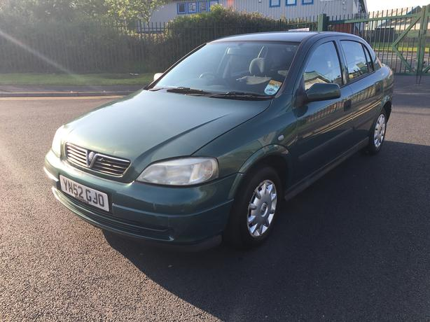 Vauxhall Astra 1.6 Automatic, 52 reg long mot, may p/x
