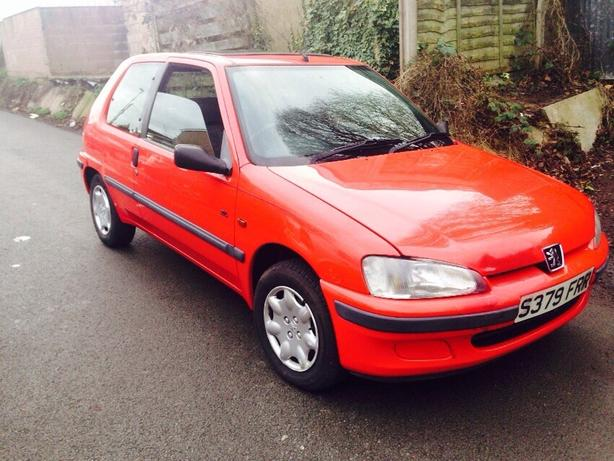 Small Automatic Peugeot 106 1.4, low mileage, drives good long mot