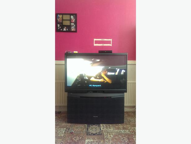 40 inch tear projection tv