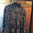 size 14 Leopard print coat