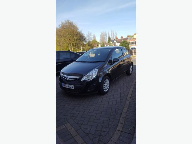 2013 vauxhall corsa 1.0 eco flex 3 door for sale