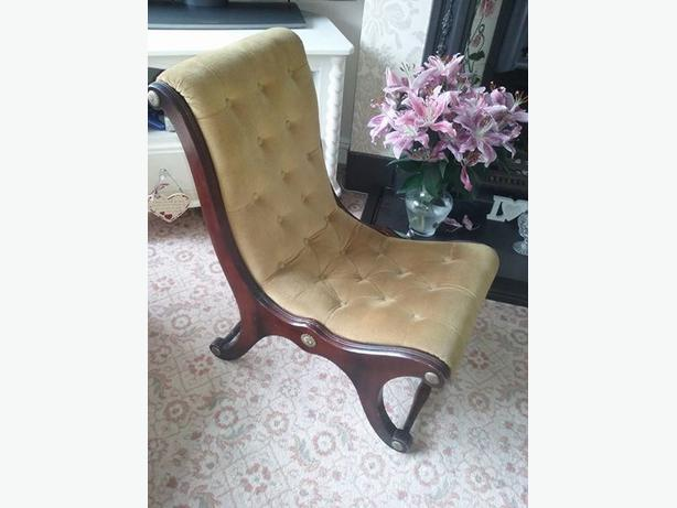 Antique / Vintage Slipper chair