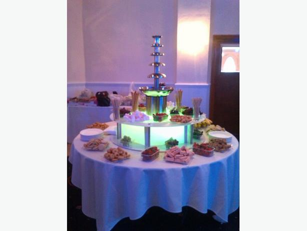 chocolate fountain hire west Mlds area