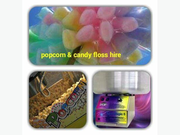 çandy floss and popcorn hire west Mlds area