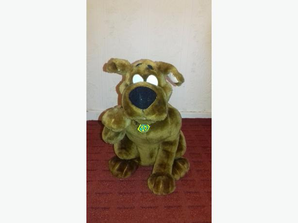 Scooby doo talking plush (big)