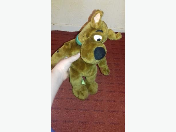 Scooby doo talking plush (small)