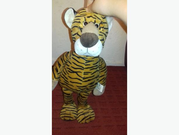 Large tiger plush