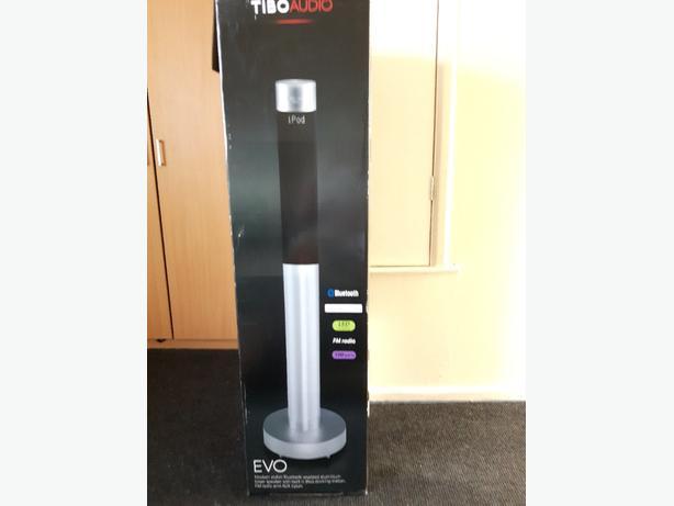 tibo evo aluminium tower speaker