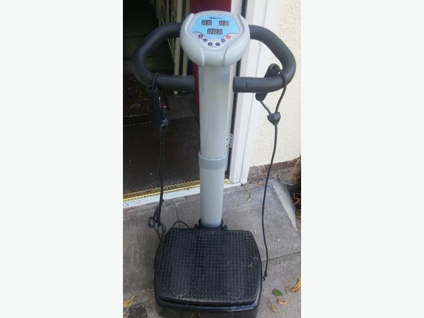 Vibrapower exercise machine