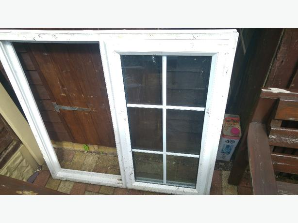 used upvc window