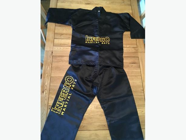Inferno martial arts uniform