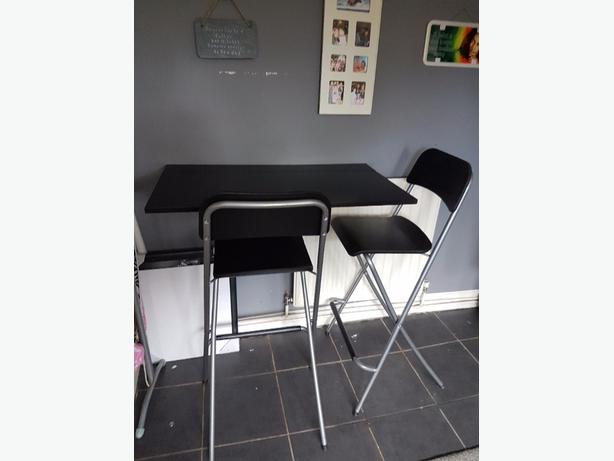 Ikea Breakfast Bar and chairs