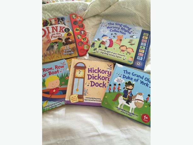 5 Musical nursery rhyme books
