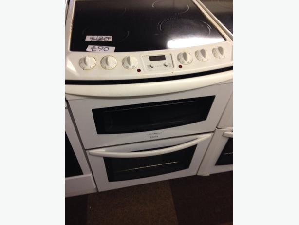 TRICITY BENDIX DOUBLE OVEN ELECTRIC COOKER