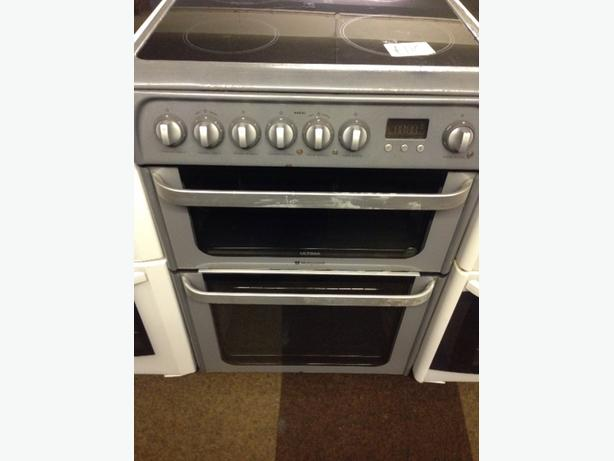 HOTPOINT ULTIMA 60CM DOUBLE FAN ASSISTED OVEN