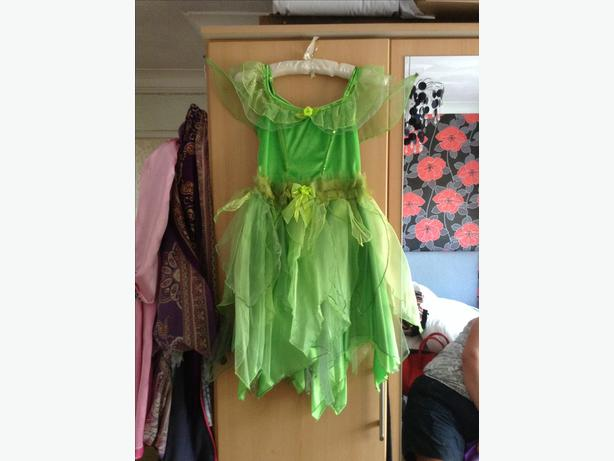 Tinkerbell dressing up outfit