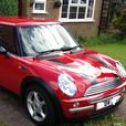 BMW MINI COOPER 04 PLATE,STUNNING RED PAINTWORK LOW MILEAGE 81K SERVICE HISTORY