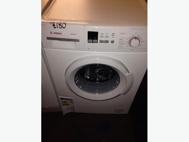 BRAND NEW 1400 SPIN WHITE BOSCH WASHING MACHINE